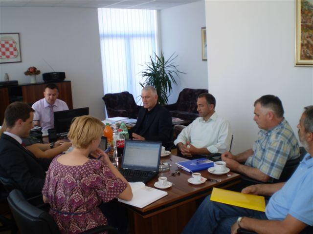 Održan je sastanak sa predstavnicima UNDP BiH