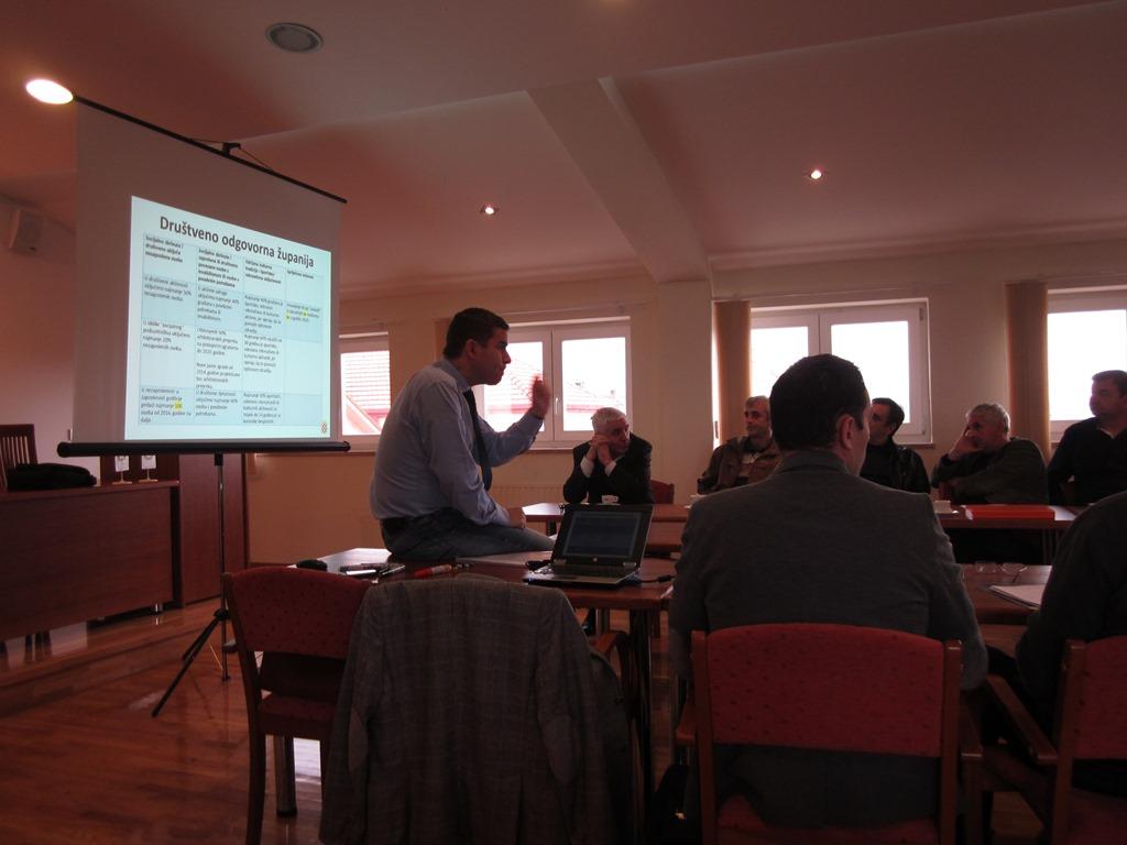 Osma sjednica Županijskog odbora za razvitak