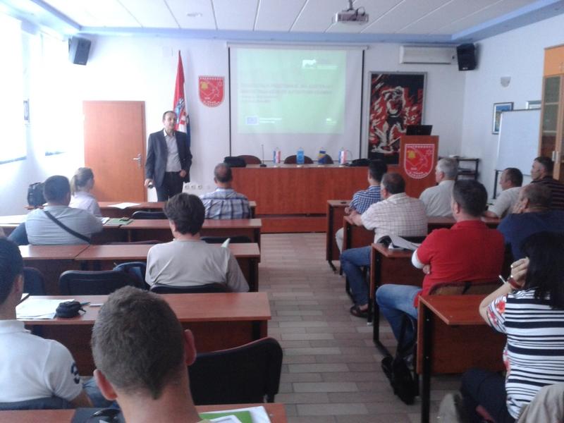 """Četvrta radionica u sklopu projekta """"BBio"""" ,održana u Makarskoj: 30.05.2014. godine"""