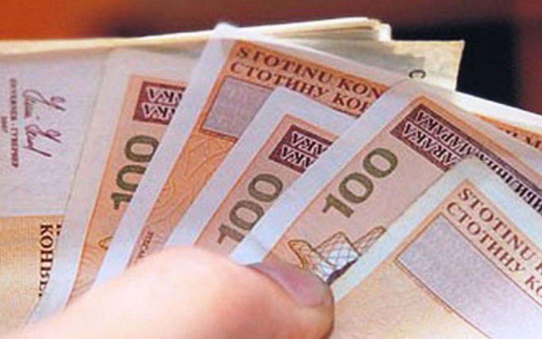 Rezultati Javnog poziva za dodjelu financijskih sredstava za financiranje najniže neto plaće za svibanj 2020. godine